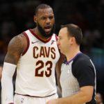 【NBA NEWS】レブロン・ジェームズがキャリア初の退場処分に