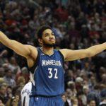 【NBA NEWS】タウンズが今シーズン最多の21回目のダブルダブルを達成。ウルブズが勝利を飾る