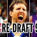 繋げ!ジョーダン引退後のNBA界を支えた名選手が集まる1998年NBAドラフト組