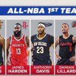 【NBA速報】オールNBA2018のメンバーが決定~2018 All-NBA Teams~