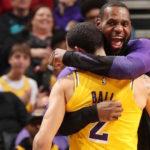 【NBAニュース】レブロンジェームズとロンゾボールが快挙達成!