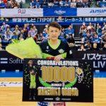 【Bリーグ速報】折茂武彦選手がキャリア通算10,000得点を達成!