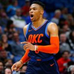 【NBA NEWS】ウェストブルックが歴代初の3シーズン連続平均トリプルダブルを達成!
