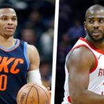 【NBAニュース】ラッセル・ウエストブルックとクリス・ポールがトレード