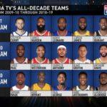 【NBAニュース】ここ10年のスター達!オールディケイドチームをNBAが選定!