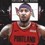 【NBA速報】カーメロ・アンソニーがポートランド・トレイルブレイザーズ入団へ
