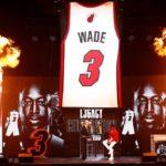 【NBAニュース】ドウェイン・ウェイドがヒートの永久欠番に