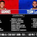 【NBAニュース】第69回NBAオールスターゲームのチーム決定