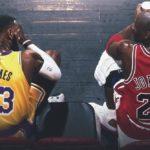 【NBAニュース】マイケルジョーダンのレブロンジェームスの比較