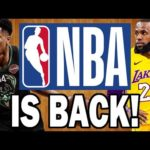【NBAニュース】NBA2019-20年シーズンが再開!