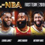 【NBAニュース】オールNBAチーム2020が決定