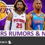 【NBAニュース】ロスアンゼルスレイカーズにクリスポール?デリックローズ?ブラッドリービール?