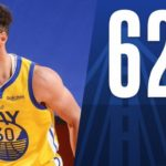 【NBAニュース】ステファンカリーが1試合自己最多の62得点を上げる