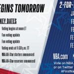 【NBAニュース】2021年NBAオールスター投票がスタート