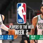 【NBAニュース】第3週の週間最優秀選手にルカドンチッチとジェイソンテイタムが選出