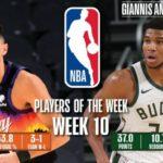 【NBAニュース】第10週の週間最優秀選手にデビンブッカーとヤニスアデクトンボが選出