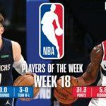 【NBAニュース】第18週の週間最優秀選手にルカドンチッチとブラッドリービールが選出