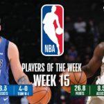 【NBAニュース】第15週の週間最優秀選手にルカドンチッチとドリューホリデーが選出