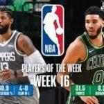 【NBAニュース】第16週の週間最優秀選手にポールジョージとジェイソンテイタムが選出
