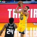 【NBAニュース】ステファン・カリーが月間の最多スリーポイントを沈める