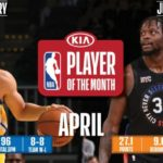 【NBAニュース】4月度月間最優秀選手にカリーとランドル、月間最優秀新人にエドワーズとフリンとが選出される