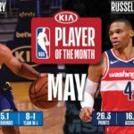 【NBAニュース】5月度月間最優秀選手にカリーとウエストブルック、月間最優秀新人にエドワーズとハンプトンが選出される