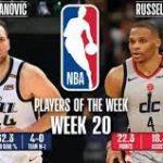 【NBAニュース】第20週の週間最優秀選手にボヤンボグダノビッチとラッセルウエストブルックが選出
