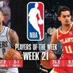 【NBAニュース】第21週の週間最優秀選手にデイミアンリラードとトレーヤングが選出