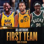 【NBAニュース】2020-21年シーズンNBAオールディフェンシブチームが発表