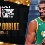 【NBAニュース】ルディ・ゴペアがNBA2020-21年シーズンの最優秀守備選手賞を受賞