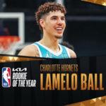 【NBAニュース】ラメロ・ボールがNBA2020-21年シーズンの最優秀新人賞を受賞