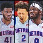 【2021−22年NBA戦力分析】デトロイト・ピストンズ